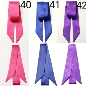 New! 2pc Any Design From 40 to 42 Satin Scarves
